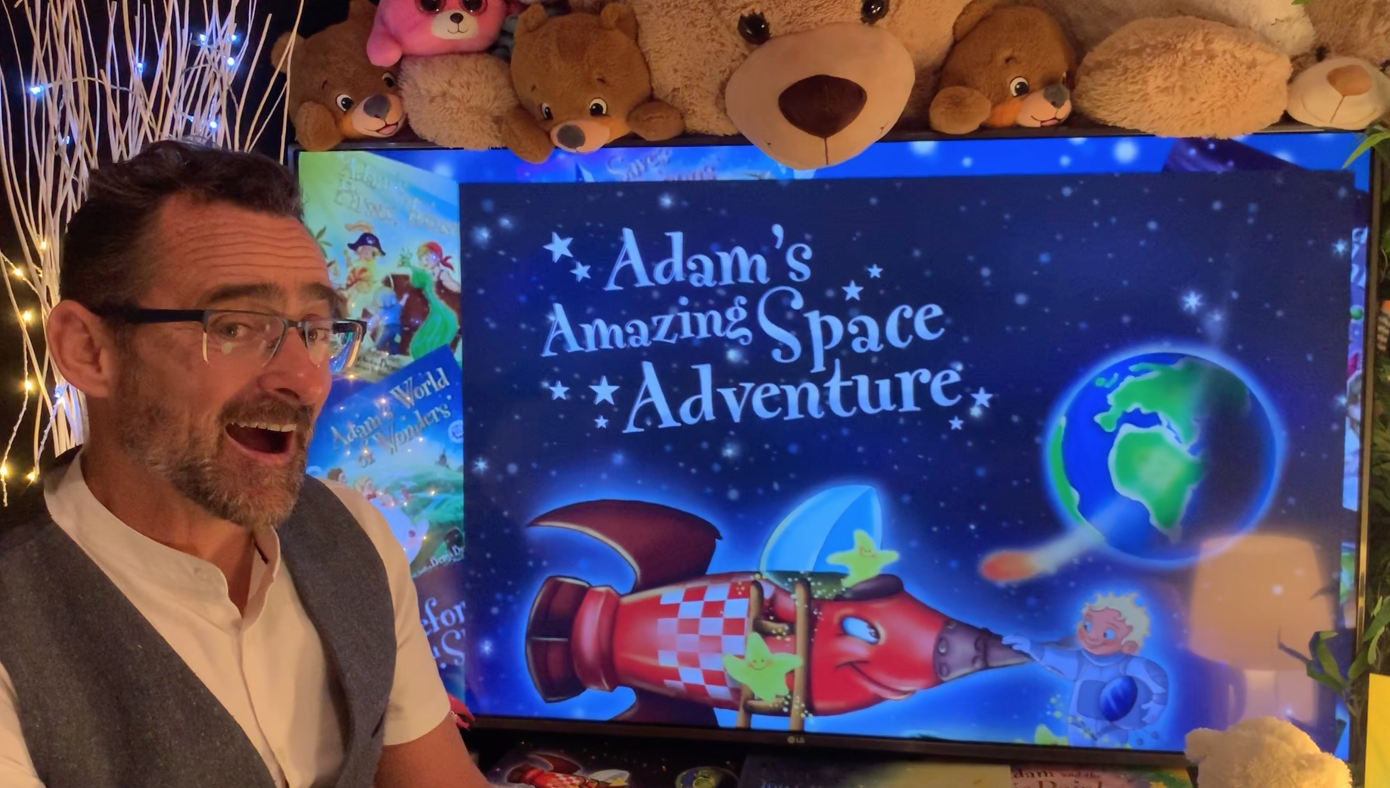 Benji's Bedtime Stories: Adam's Amazing Space Adventures