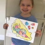 Emily loves Adams Cloud colouring